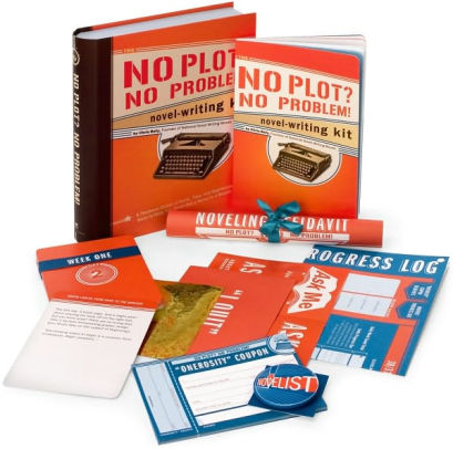 "Resource Review: ""No Plot? No Problem! Novel-Writing Kit"" by Chris Baty"